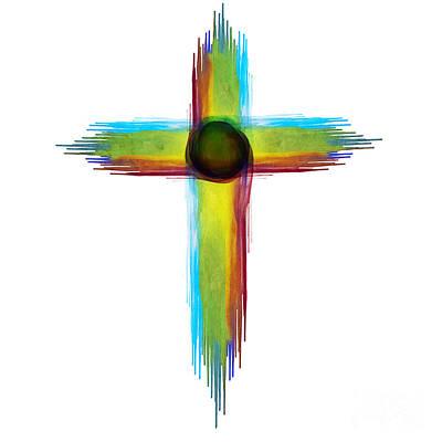 Painting - Watercolor Cross by Christina VanGinkel