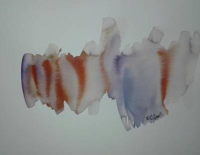 Watercolor Design 2 Art Print by B L Qualls