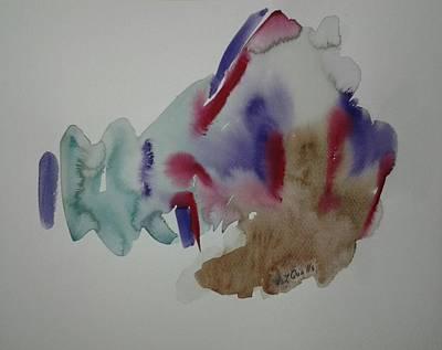Watercolor Design 3 Art Print by B L Qualls