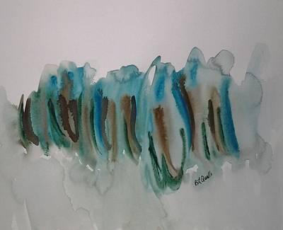Watercolor Design 6 Art Print by B L Qualls