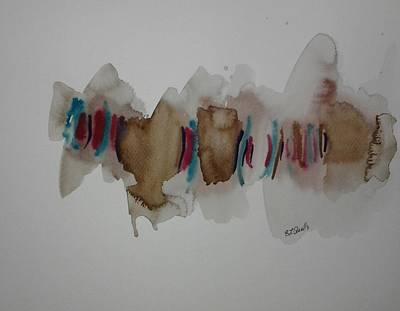 Watercolor Design Art Print by B L Qualls