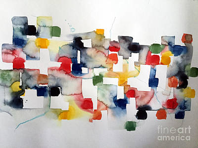 Mixed Media - Watercolor I by Mark Palmer