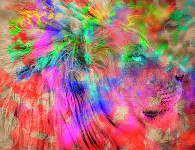 Mixed Media - Watercolor King by David Millenheft