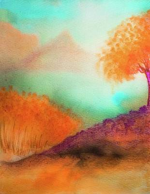 Painting - Watercolor Landscape 1 by Lilia D