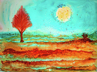 Painting - Watercolor Landscape 2 by Lilia D
