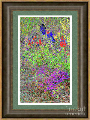 Painting - Watercolor Painting - Flower Garden by Merton Allen