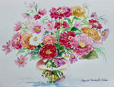 Painting - Watercolor Series 101 by Ingrid Dohm