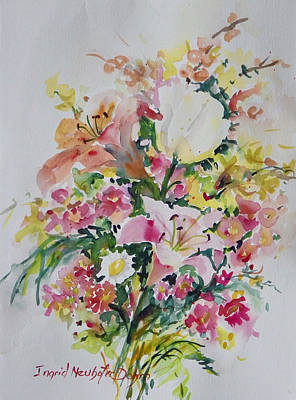 Painting - Watercolor Series 102 by Ingrid Dohm