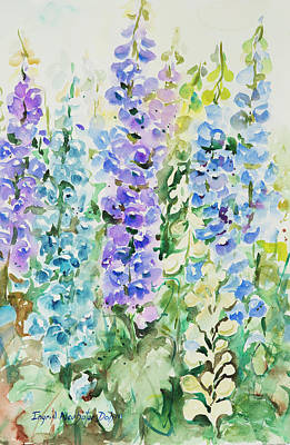 Painting - Watercolor Series 138 by Ingrid Dohm