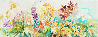 Painting - Watercolor Series 142 by Ingrid Dohm