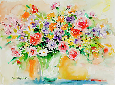 Painting - Watercolor Series 171 by Ingrid Dohm