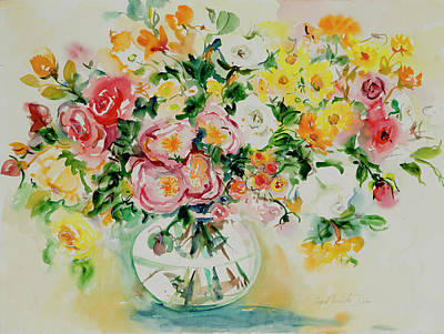 Painting - Watercolor Series 173 by Ingrid Dohm