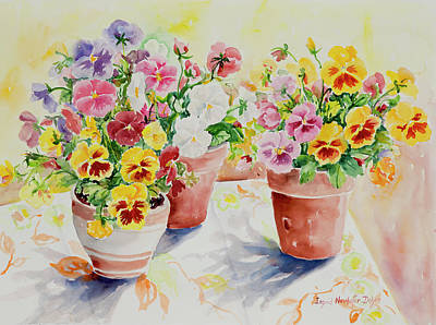 Painting - Watercolor Series 174 by Ingrid Dohm