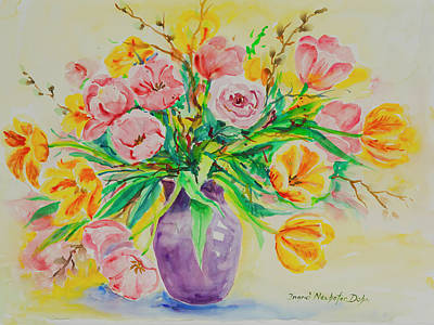Painting - Watercolor Series 178 by Ingrid Dohm