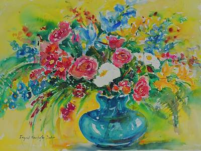 Painting - Watercolor Series 180 by Ingrid Dohm