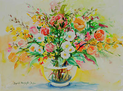 Painting - Watercolor Series 189 by Ingrid Dohm