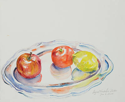 Painting - Watercolor Series 191 by Ingrid Dohm