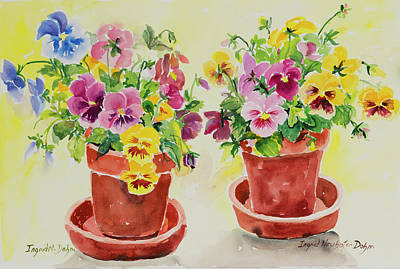 Painting - Watercolor Series 193 by Ingrid Dohm