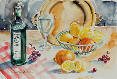 Painting - Watercolor Series 199 by Ingrid Dohm