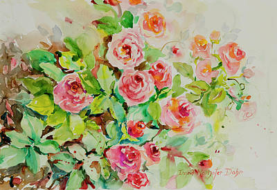 Painting - Watercolor Series 202 by Ingrid Dohm