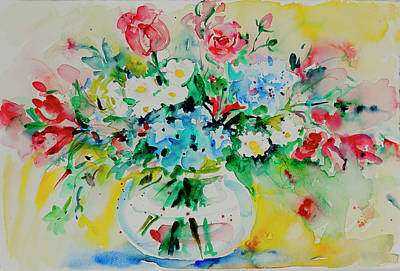 Painting - Watercolor Series 204 by Ingrid Dohm