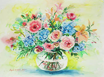 Painting - Watercolor Series 205 by Ingrid Dohm