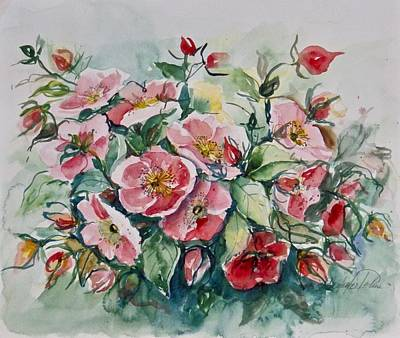 Painting - Watercolor Series 208 by Ingrid Dohm