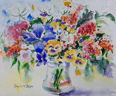 Painting - Watercolor Series 209 by Ingrid Dohm