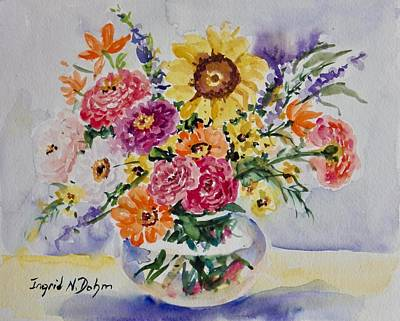 Painting - Watercolor Series 229 by Ingrid Dohm