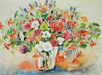 Watercolor Series 23 Art Print
