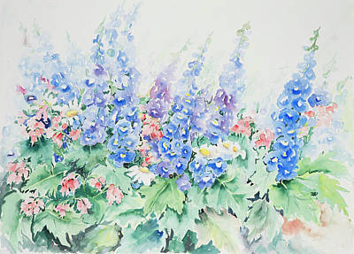 Painting - Watercolor Series 36 by Ingrid Dohm