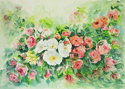Painting - Watercolor Series 4 by Ingrid Dohm