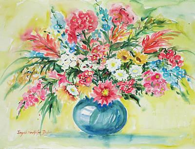 Watercolor Series 58 Art Print