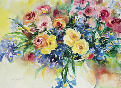 Watercolor Series 62 Art Print