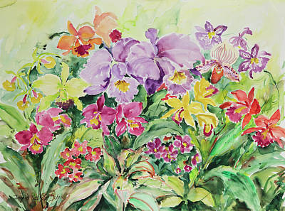 Painting - Watercolor Series 63 by Ingrid Dohm