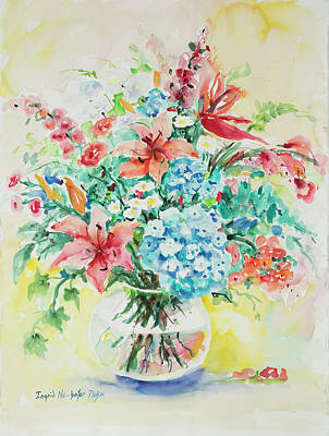 Painting - Watercolor Series 66 by Ingrid Dohm