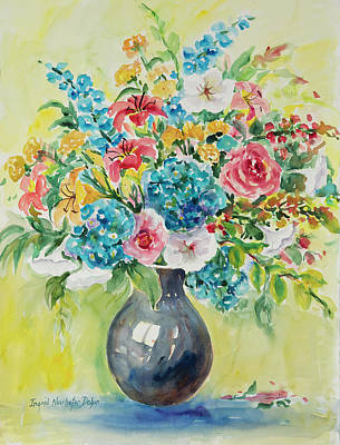 Painting - Watercolor Series 69 by Ingrid Dohm