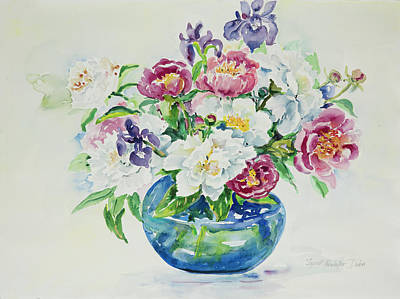 Painting - Watercolor Series 70 by Ingrid Dohm