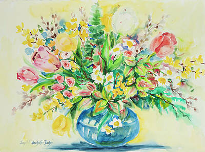 Painting - Watercolor Series 71 by Ingrid Dohm