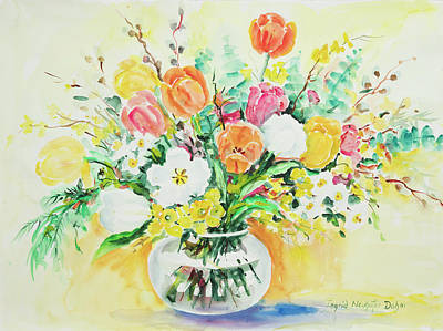 Painting - Watercolor Series 75 by Ingrid Dohm