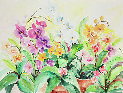 Painting - Watercolor Series 76 by Ingrid Dohm