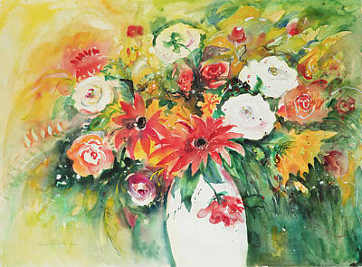 Painting - Watercolor Series 77 by Ingrid Dohm