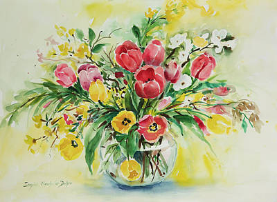 Painting - Watercolor Series 79 by Ingrid Dohm