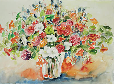 Painting - Watercolor Series 81 by Ingrid Dohm