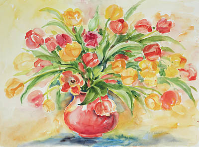 Painting - Watercolor Series 82 by Ingrid Dohm