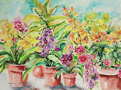 Painting - Watercolor Series 83 by Ingrid Dohm