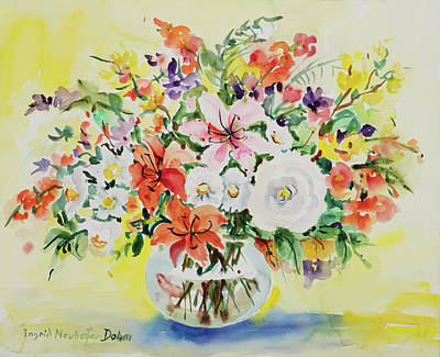 Painting - Watercolor Series 84 by Ingrid Dohm