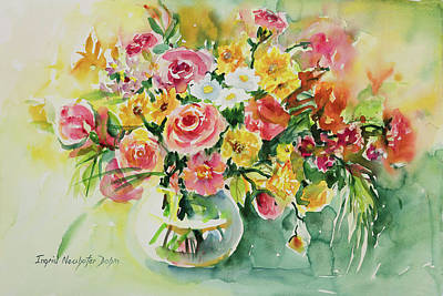 Painting - Watercolor Series 85 by Ingrid Dohm