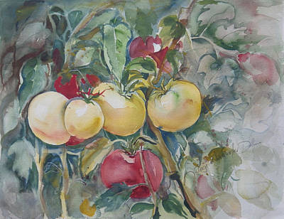 Painting - Watercolor Series 86 by Ingrid Dohm