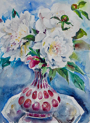 Painting - Watercolor Series 87 by Ingrid Dohm